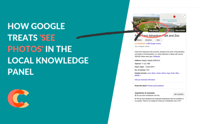 How Google Treats 'See Photos' in the Local Knowledge Panel – A Story of 2 Parts